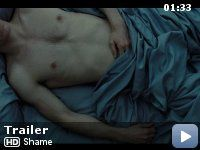 SHAME... Directed by Steve McQueen and stars Michael Fassbender. NC-17.