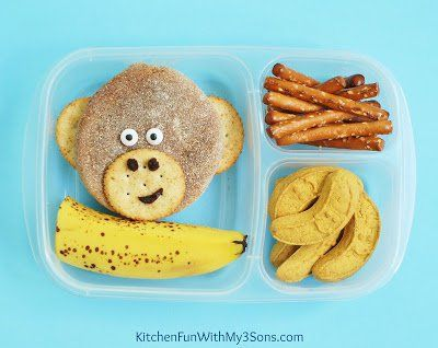Funky Monkey Bento Lunch