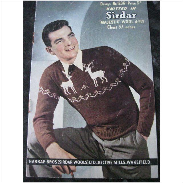 59 best mens Vintage knitting patterns images on Pinterest   Knit ...