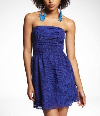 : Evening Dresses, Dresses Style, Parties Dresses, Cute Dresses, Strapless Crocodiles, Crocodiles Burnout, Graduation Dresses, Crocodile Burnout, Burnout Dresses