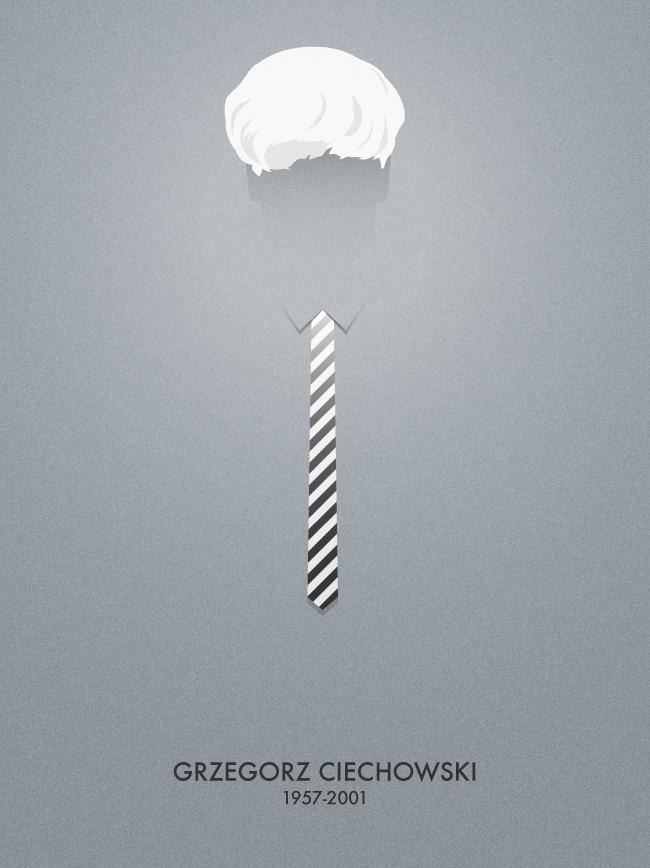 """Poster """"Grzegorz Ciechowski"""""""