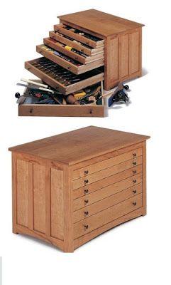 projeto gratuito no blog: Ah! E se falando em madeira...: +1 caixa de ferramentas gaveteiro