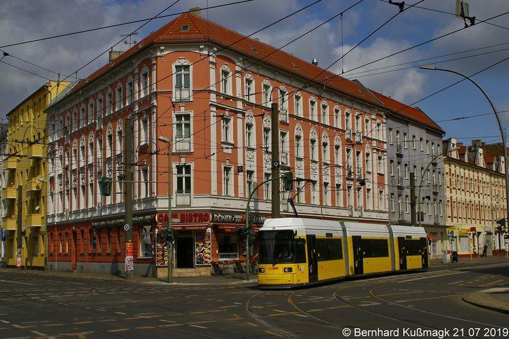 Europa Deutschland Berlin Treptow Kopenick Treptow Schoneweide Oberschoneweide Edisonstrasse Ecke Wilhelminenhofstrasse Konigsplatz Berlin Street View Street