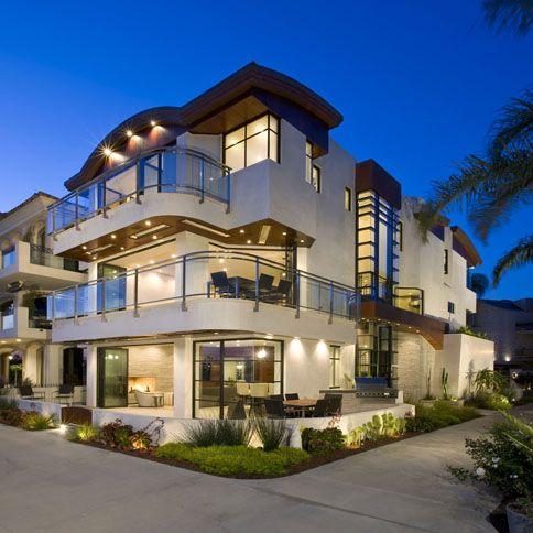 165 best images about corner lot landscaping ideas on for Modern house design corner lot