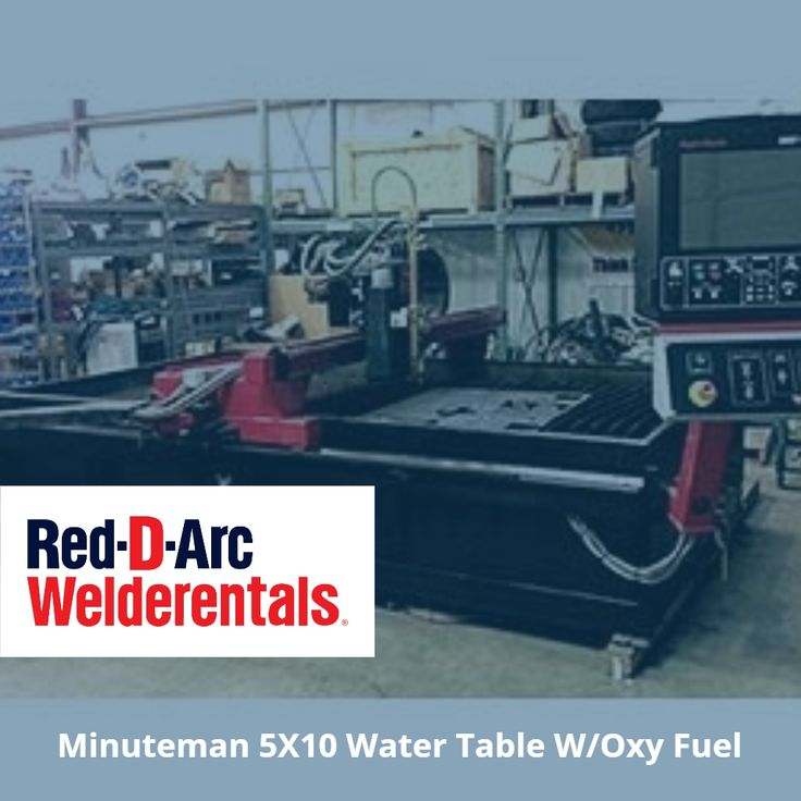 #UsedEquipment - Minuteman 5X10 Water Table W/Oxy Fuel  Available in #MuscleShoals. We also deliver.  #Oxyfuel
