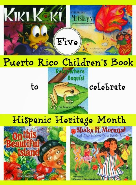 Five Puerto Rico Children's Book to celebrate Hispanic Heritage Month Discovering The World Through My Son's Eyes