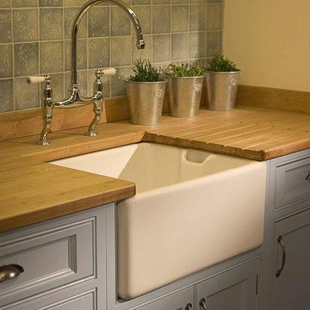 how to clean old belfast sink