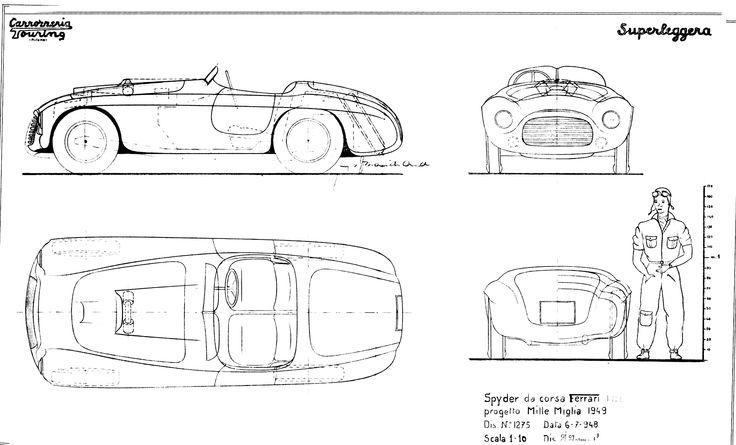 37 best cars blueprints images on pinterest cutaway vintage cars ferrari 166mm spyder da corsa 1949 smcars car blueprints forum malvernweather Images