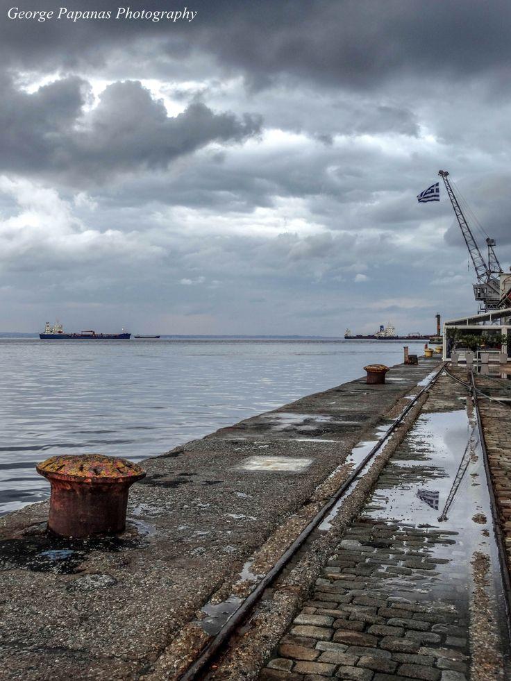 Βόλτα στο λιμάνι Θεσσαλονίκης... Thessaloniki