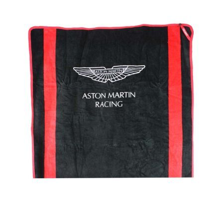 drap de plage aston martin racing hackett noir. Black Bedroom Furniture Sets. Home Design Ideas