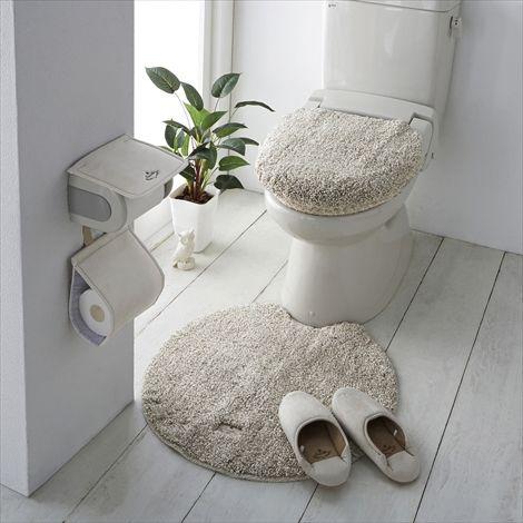 ふかふかふわふわ マット 通販 【ニッセン】 トイレ用品 トイレマット