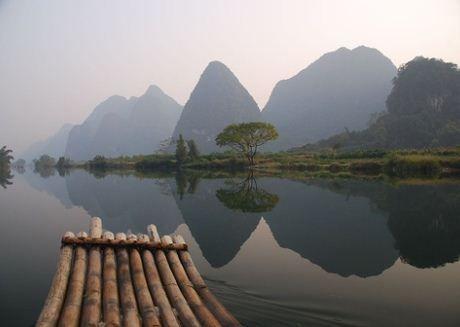 Lake of Dreams,Yuangshuo, China