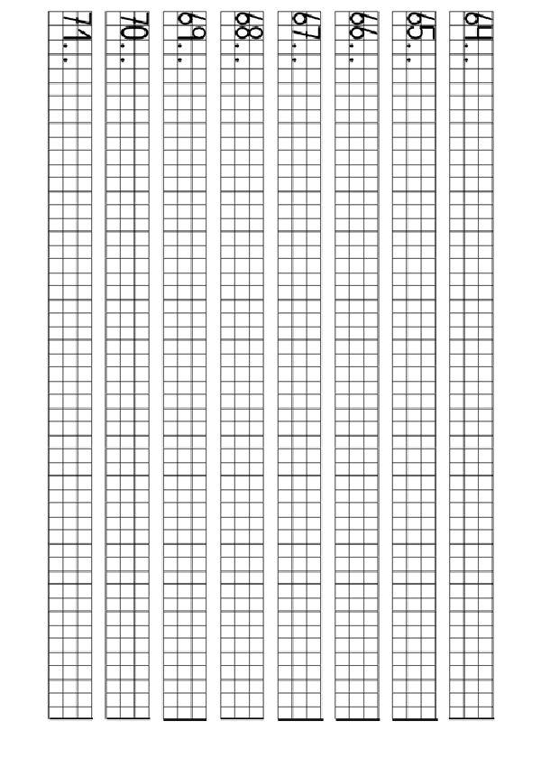 Actividades para imprimir Repasa los numeros del 1 al 100 . http://www.pequescuela.com/actividades-preescolar-imprimir-numeros-cuadricula9.html