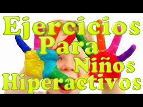 Cómo distinguir entre el niño inquieto y el niño hiperactivo - YouTube
