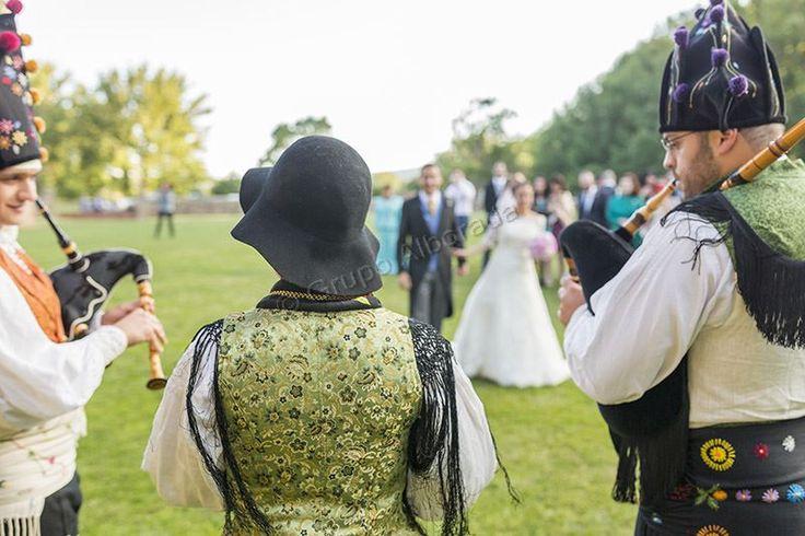 Gaiteros para bodas y eventos.