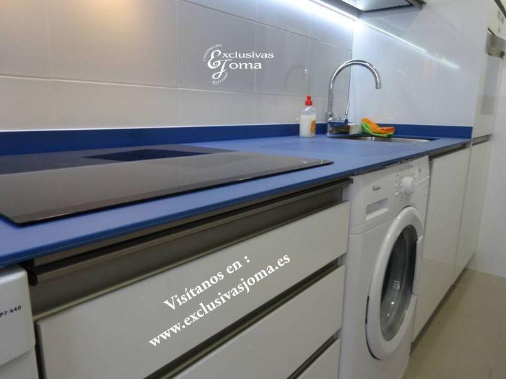 Realizaci n de proyecto de cocina en 3d hecho realidad for Altamira muebles