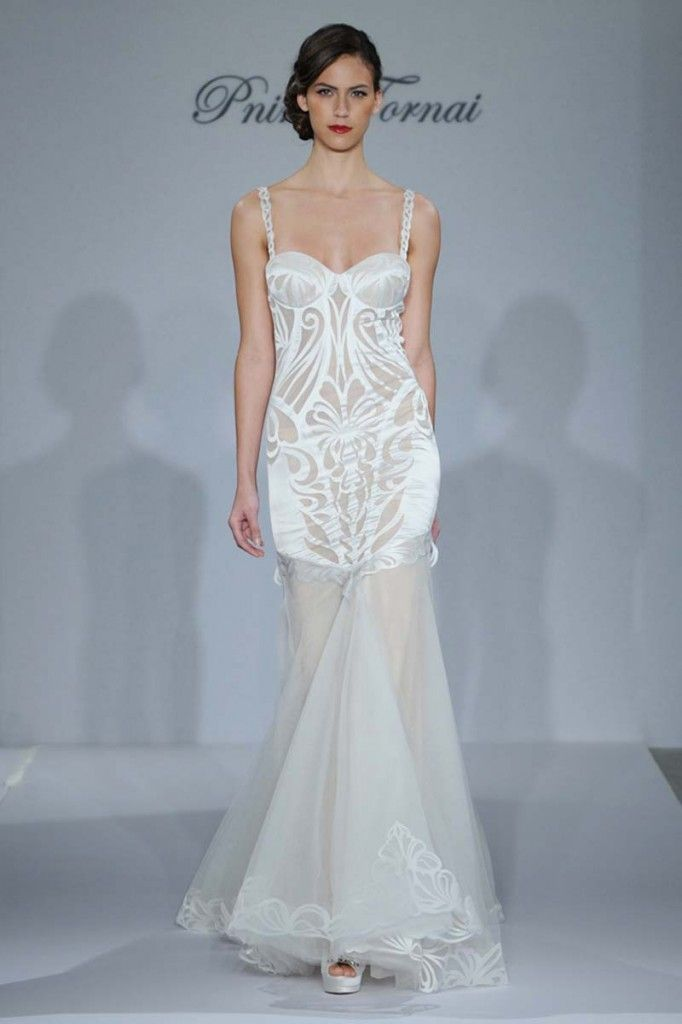 Our Beach Wedding Gown Of The Week Pnina Tornai