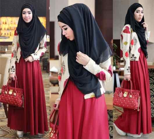 Maxi Terbaru Dar Idea Hijab Untuk Anda Wanita Dan Remaja Putri Dimana Pun Berada Ladiana Maxi