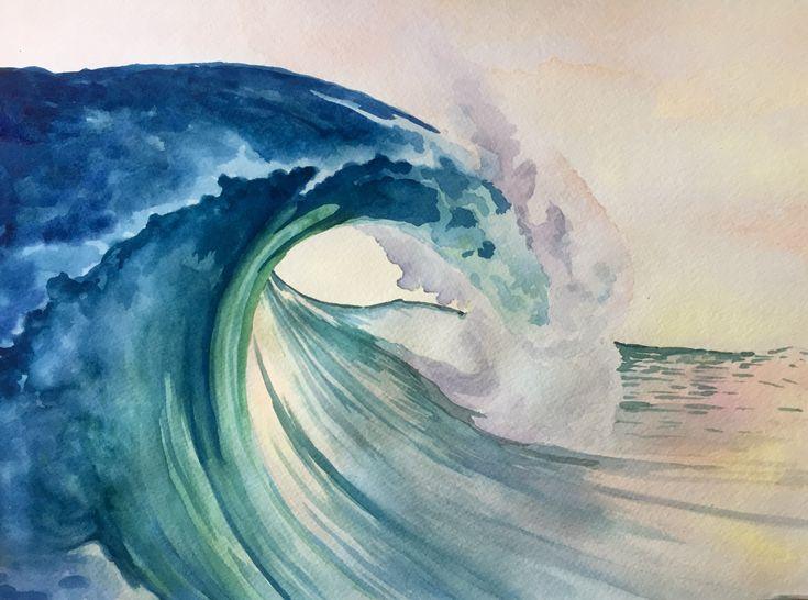 Картинки горы море волны ребенок