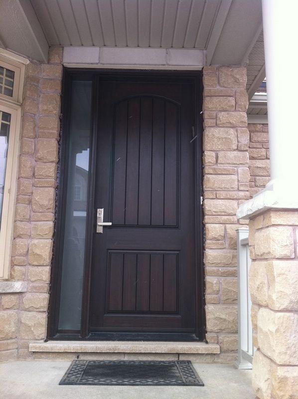 Rustic Fiberglass Entry Doors | Delco Windows & Doors Toronto |Photo Gallery