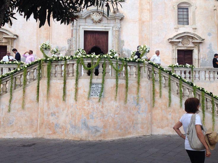 Beautiful church in taormina