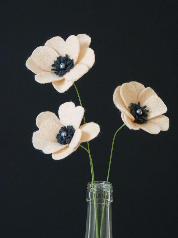 diy fleurs en feutrine 07