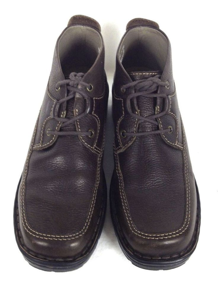 Clarks Shoes Womens Brown Leather Boots 7 #Clarks #FashionAnkle #WeartoWork