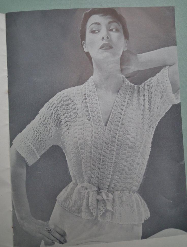 """Hairpin Crochet Nine New Designs"""