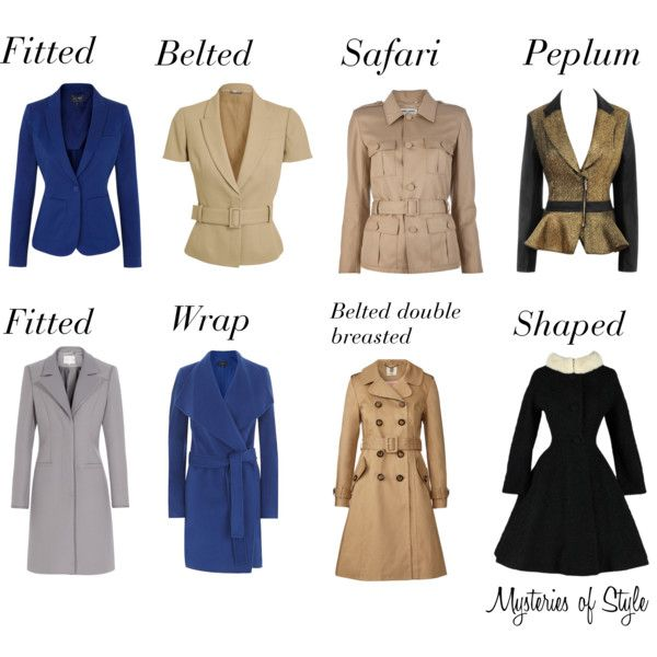 coats for hourglass figure - Google Search