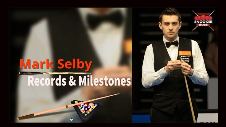 Mark Selby World Records and Milestones
