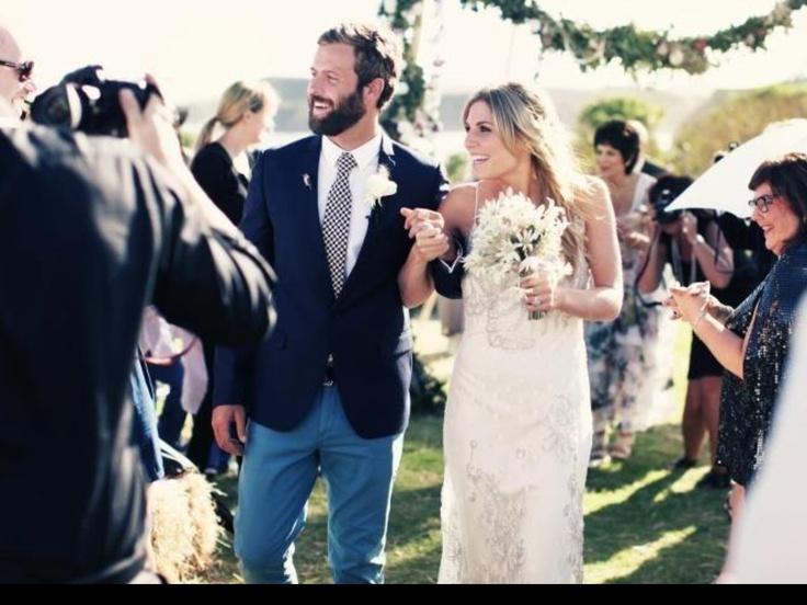 Ellie looking amazing in her Jane Hill Wedding Dress