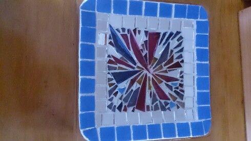 Platos decorativos de vidrio