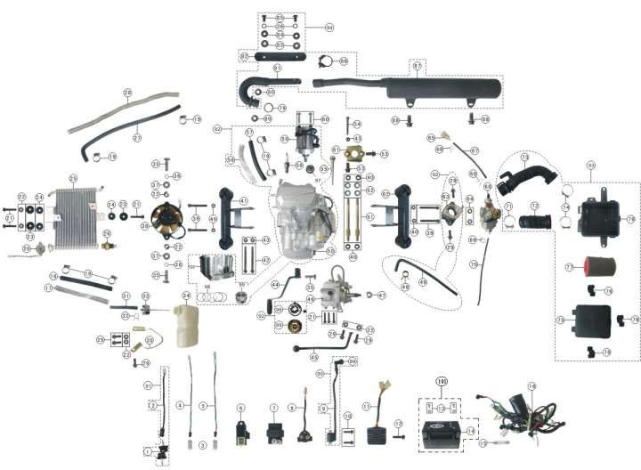 Chinese 125Cc Engine Wiring Diagram and Cc Engine Diagram