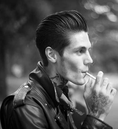 Best Mens Rockabilly Hairstyle