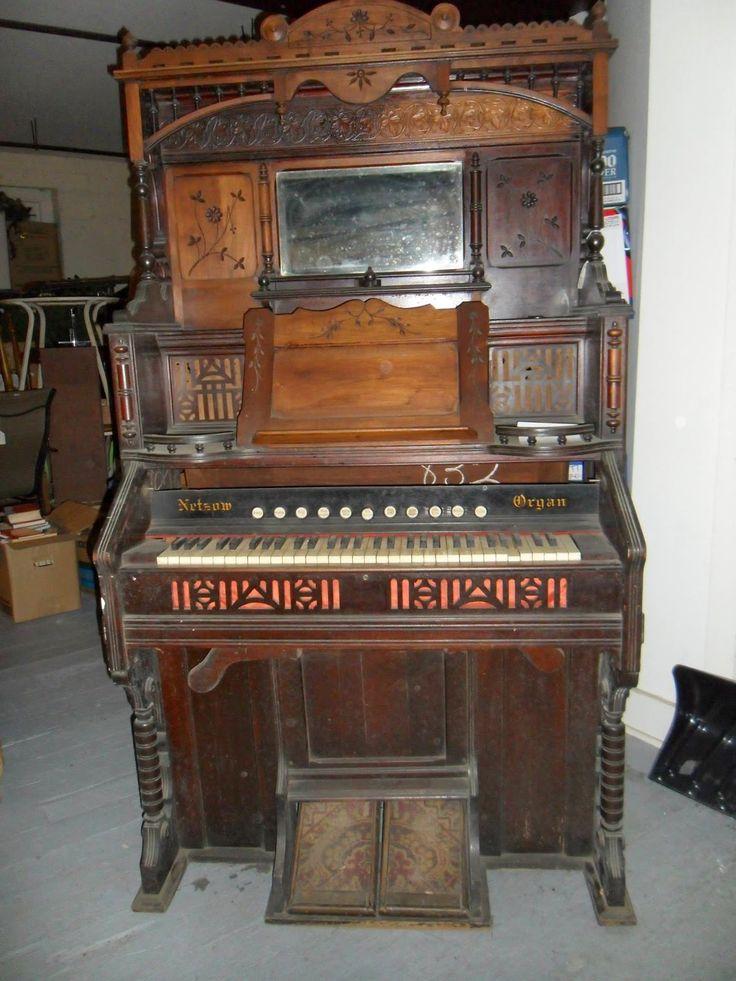Vintage Secretary Desk >> 60 best Antique Pump Organ images on Pinterest