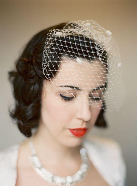 25+ best ideas about Vintage birdcage veils on Pinterest