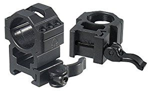 "UTG 1""/2PCs High Pro LE Grade Picatinny QD Rings: 25mm Wide"