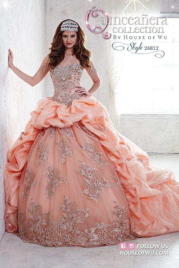 Gold dress quinceanera 26774