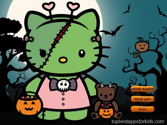 Best Halloween apps for kids 2013 with Fear factor