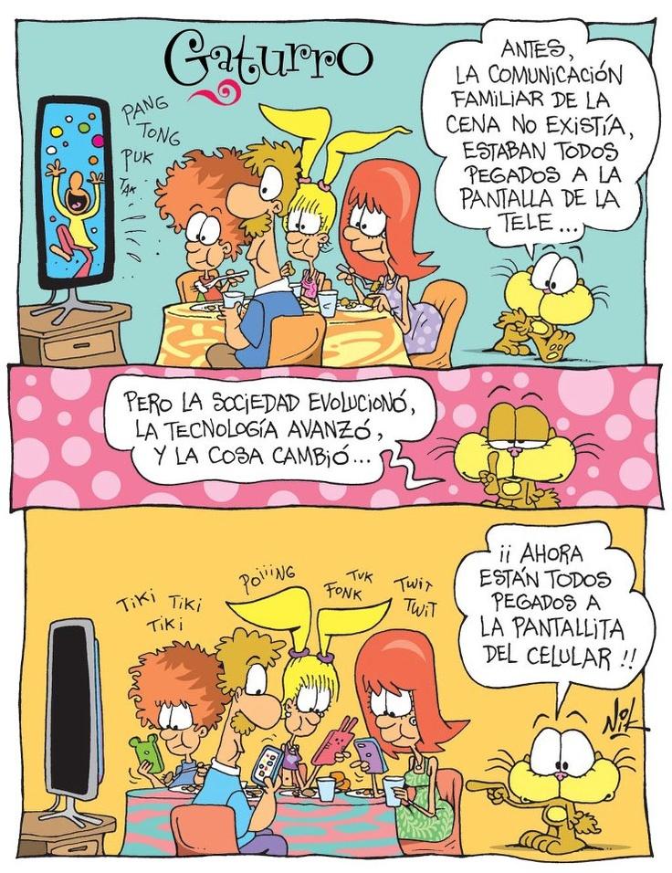 La pantallita del celular .. ^^