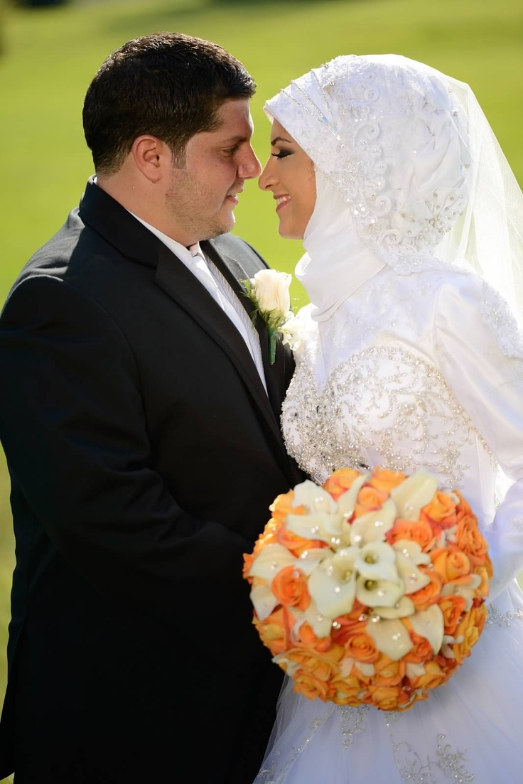Hijab Muslim wedding
