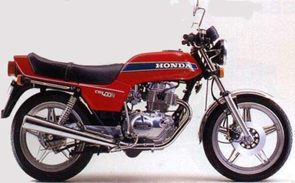 famous cb400 with 4-cylinder and header bang!