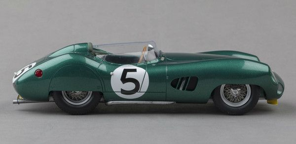 Aston Martin DBR1 - 1959 Le Mans Winner - 1:18 Scale Model Car by Spark, now available at Model Citizen