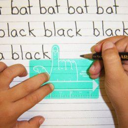 One-Finger Spacer- Help your child write better this year!