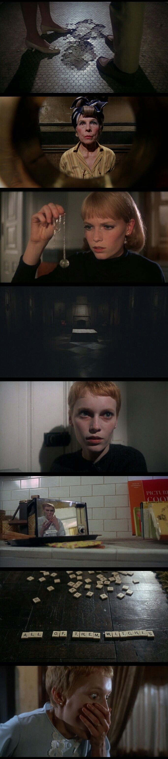 Rosemary's Baby (1968) great for fans of realistic horror films while still being stylish and scary.
