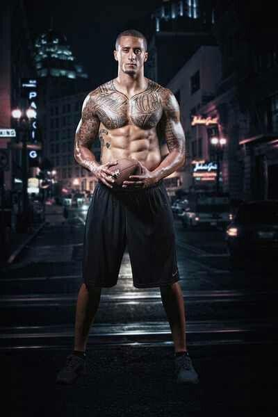 Colin Kaepernick :-)