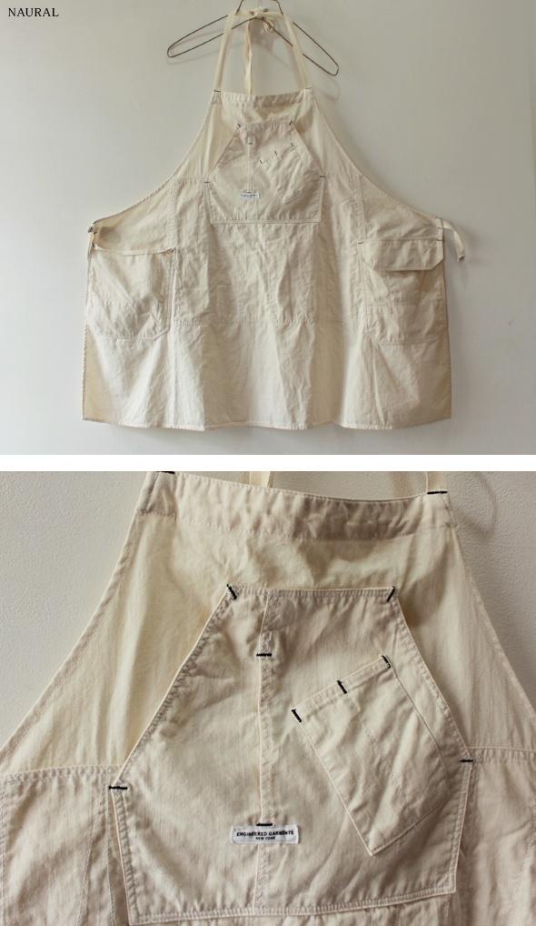 Apron | Off-white | Work | Pockets