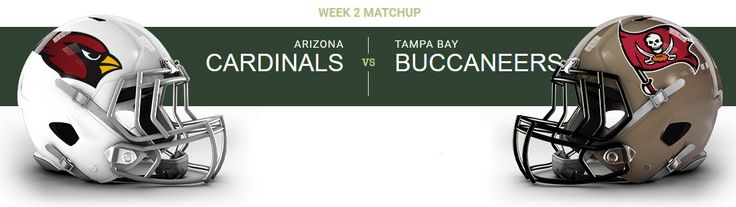 Tampa Bay Buccaneers at Arizona Cardinals University of Phoenix Stadium — Glendale, AZ on Sun Sep 18 at 1:05pm, From $25.00