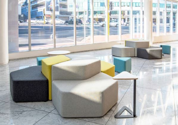 Available in a range of shapes and sizes to suit all applications. Elements Ottomans.