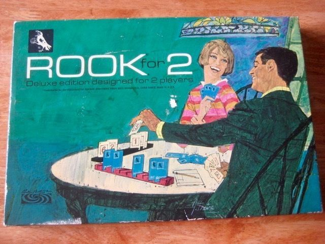 Vintage Rook For 2 Deluxe Edition Card Game For 2 Players Parker Brothers SEALED #ParkerBrothers